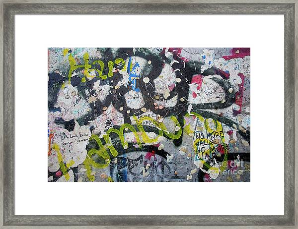 The Wall #9 Framed Print