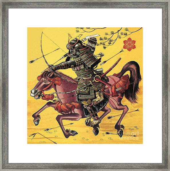 The War Lords Of Japan Framed Print