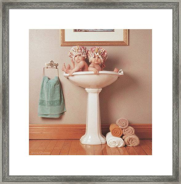 The Washbasin Framed Print