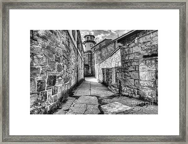 The Watch Tower Eastern State Penitentiary Framed Print