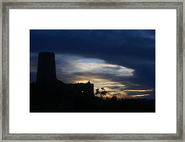 The Watch Tower Framed Print
