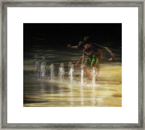 The Water Maestro  Framed Print