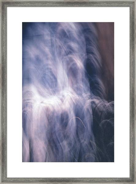The Waterfall Of Emotion Framed Print