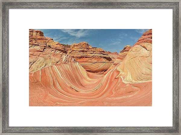 The Wave Framed Print