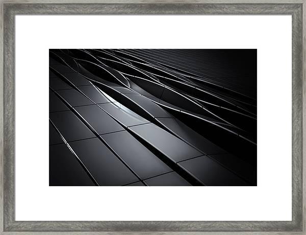 The Waving Facade Framed Print