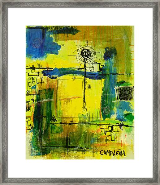 The Way Of It              Framed Print
