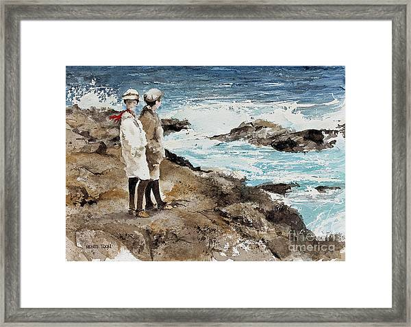 The Way We Were Framed Print