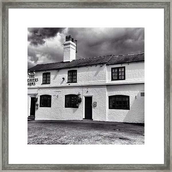 The Weavers Arms, Fillongley Framed Print