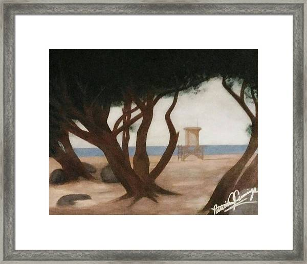 The Wedge At Peace Framed Print