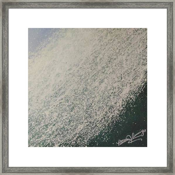 The Wedge - Dreaming Waves Framed Print
