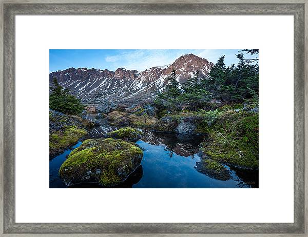 The Wedge In Late Autumn Framed Print