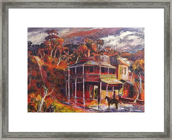 The Weir Framed Print