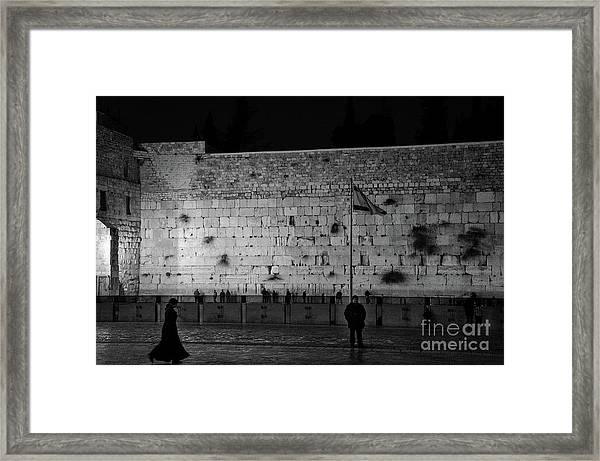 The Western Wall, Jerusalem Framed Print