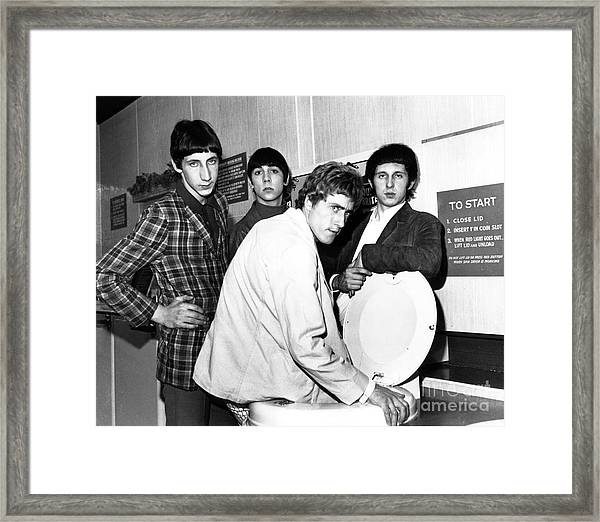 The Who 1966 Framed Print