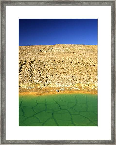 The Wild And The Blue Yonder Framed Print