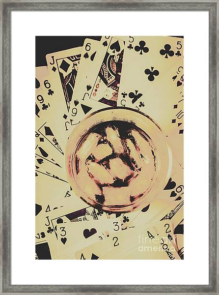 The Wild West Casino  Framed Print