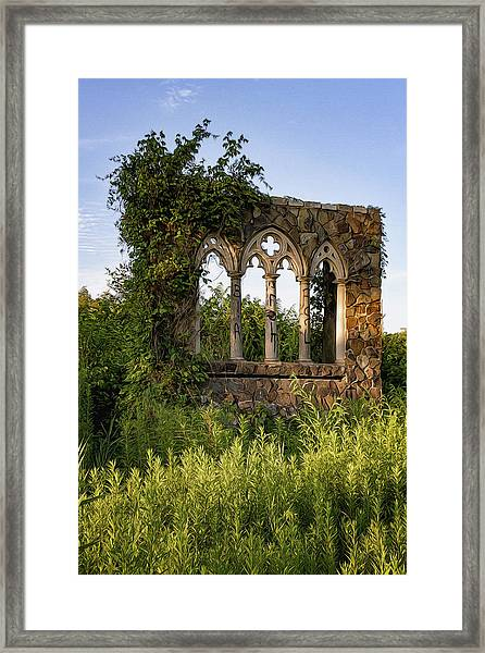 The Window Framed Print