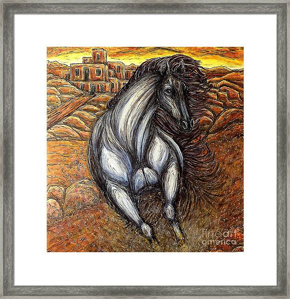 The Winds Have Changed Framed Print