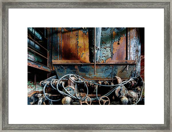 The Wizard's Music Box Framed Print