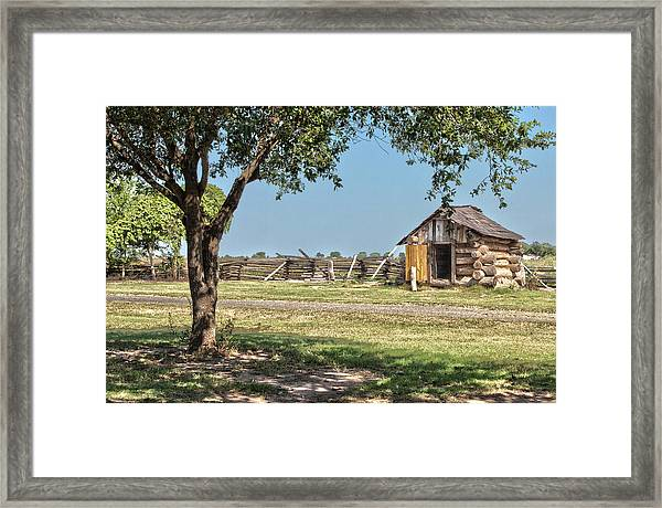 The Wood Shed Framed Print