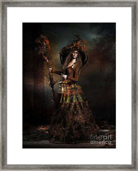 The Wood Witch Framed Print