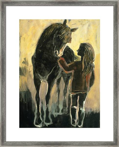 The Yearling Framed Print