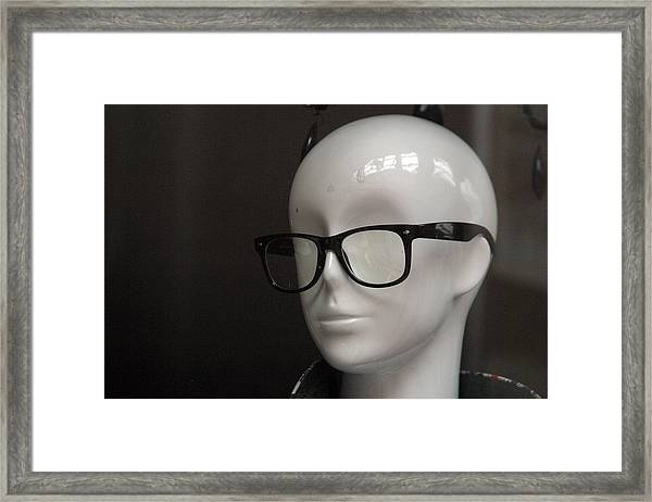 The Young Caine Framed Print by Jez C Self