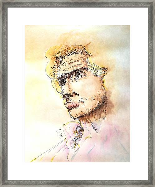 The Young Prince Framed Print