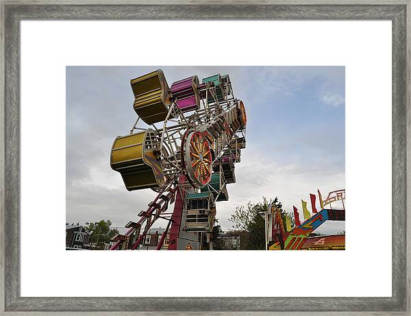 The Zipper Framed Print by Brynn Ditsche