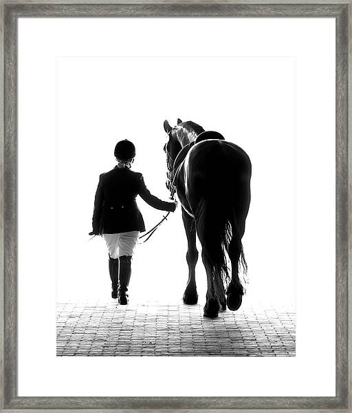 Their Future Looks Bright Framed Print