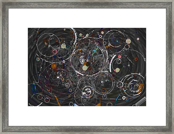 Theories Of Everything Framed Print
