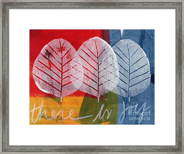 There Is Joy Framed Print