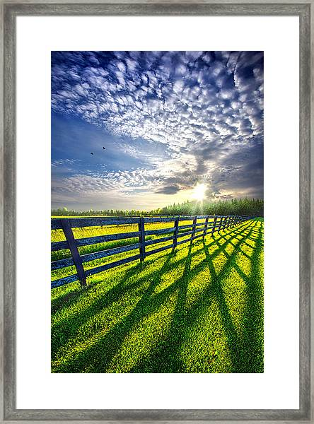 There Is More That Unites Than Divides Framed Print