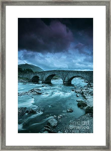 There Will Be Bridges Framed Print