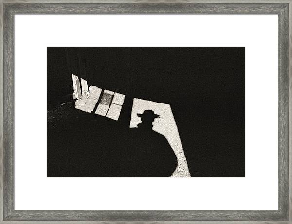 There's A New Sheriff In Town Framed Print