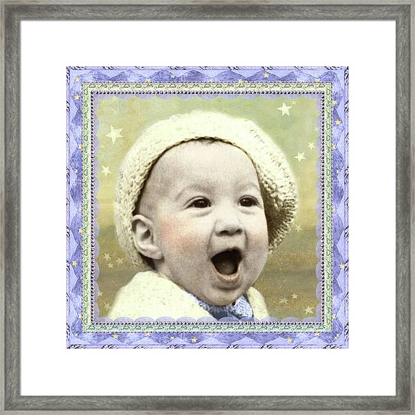 There's Bunny Framed Print