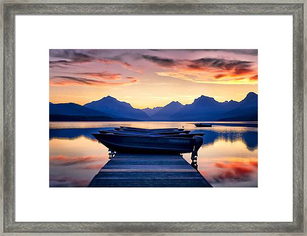 There's No Place Like Home Framed Print