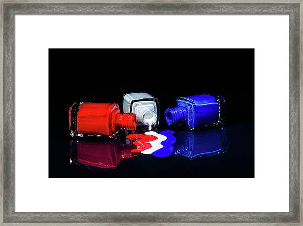 These Colors Don't Run Framed Print
