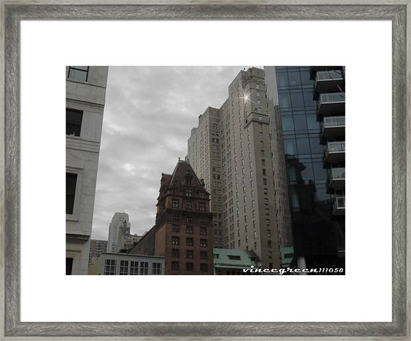 They Always Say It's Sunny In Philadelphia Framed Print