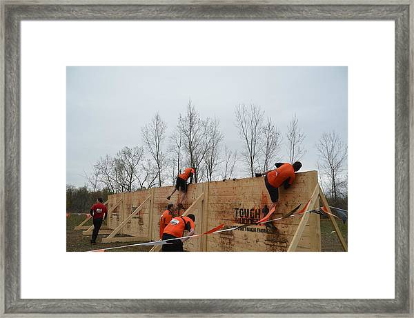 They Call It The Berlin Walls Framed Print