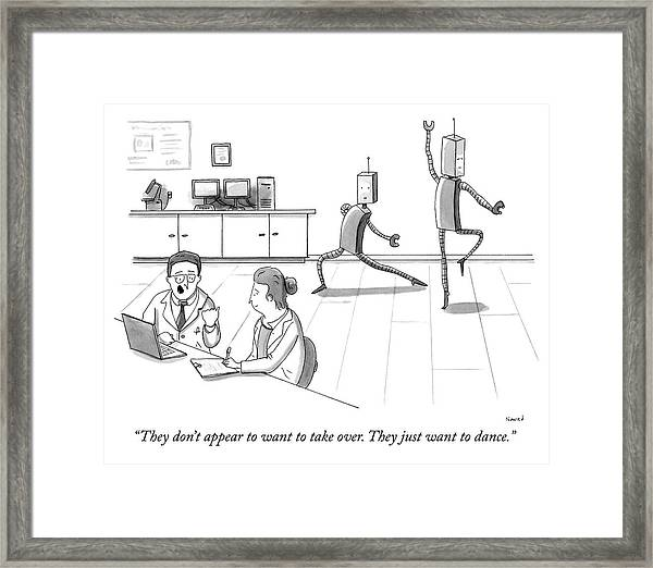 They Just Want To Dance Framed Print