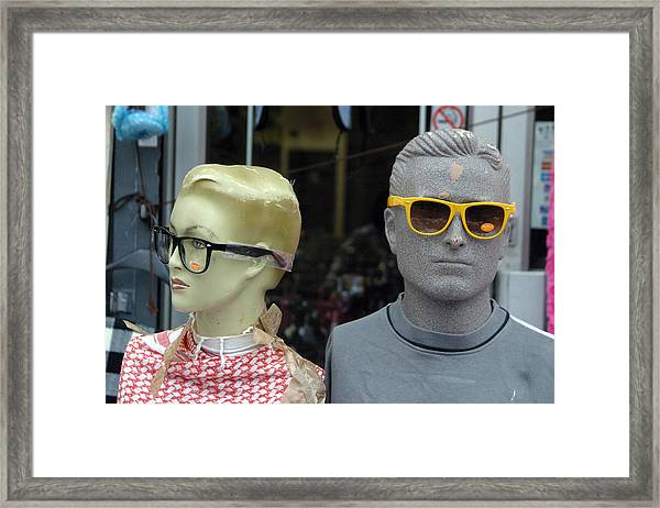 They Really Don't Suit You Framed Print by Jez C Self