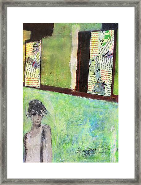 They Say Framed Print