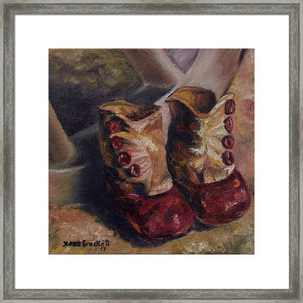 They Walked And Walked And Walked Framed Print