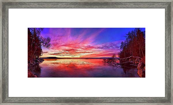 Thin Ice 1 Framed Print