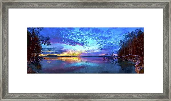 Thin Ice 2 Framed Print