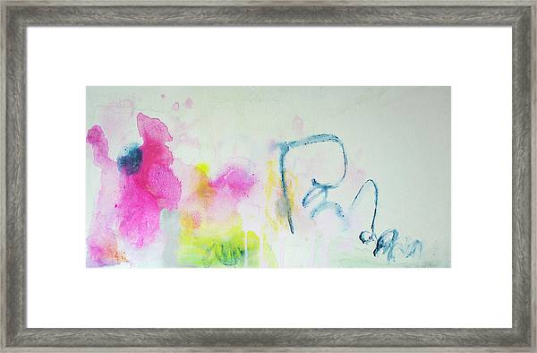 Think About Framed Print