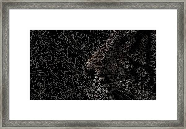 Think Framed Print
