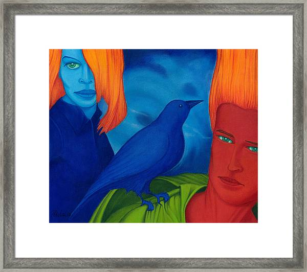 Thinkng Abaut Separation. Framed Print