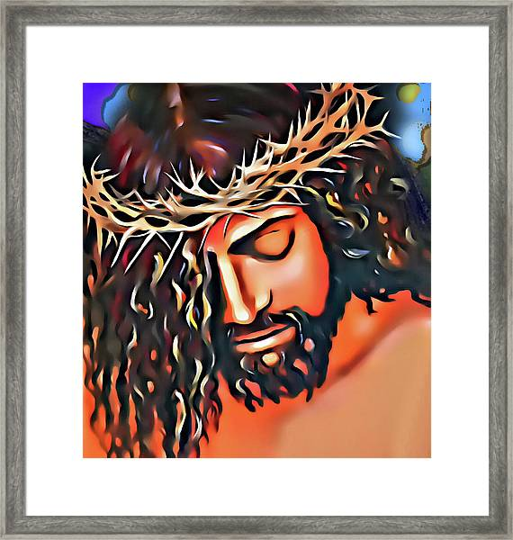 This Blood Is For You Framed Print